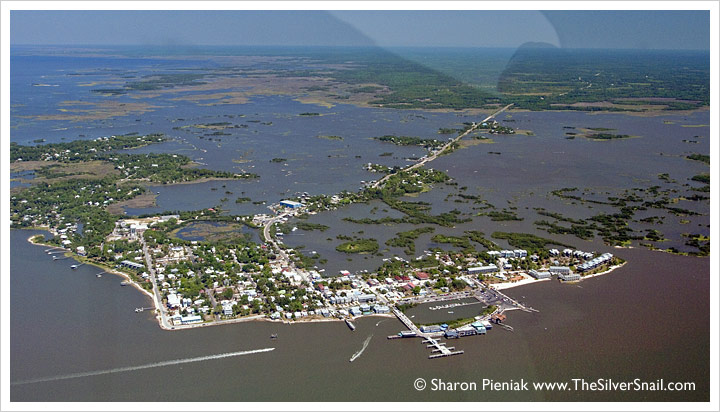 Cedar Key airplane tour