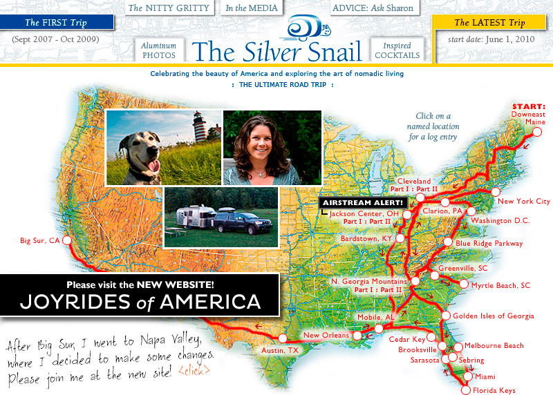 The Ultimate Road Trip: THE SILVER SNAIL : A solo woman's full-time RV adventure in an Airstream trailer